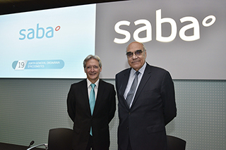 As Saba doubles in size, reinforces its expansion plan and it confirms its position as a benchmark for innovation